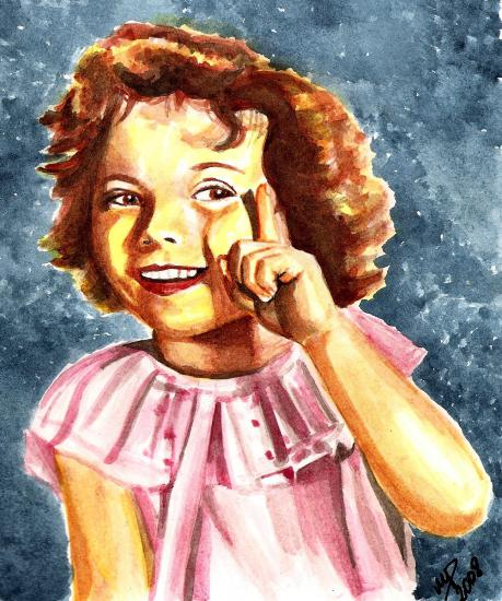 Shirley Temple par Marino63